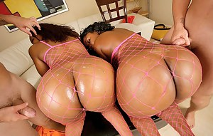 Big Ass Foursome Porn Pictures