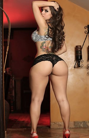 Big Ass Tattoo Porn Pictures