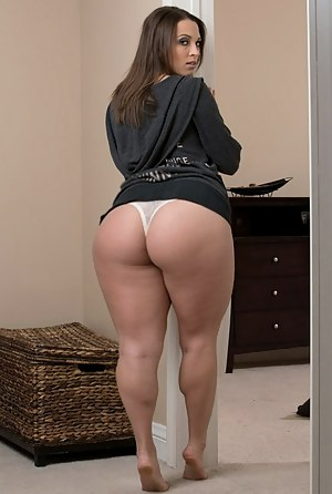 Thick ass naked