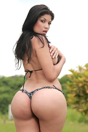 Big ass latina models