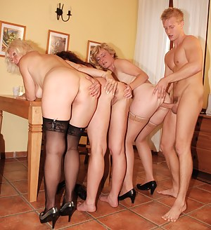 Big Ass Foursome Porn Pictures